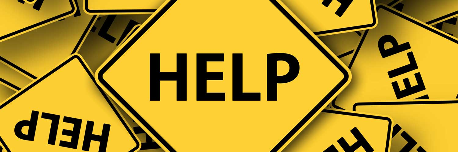 help signs