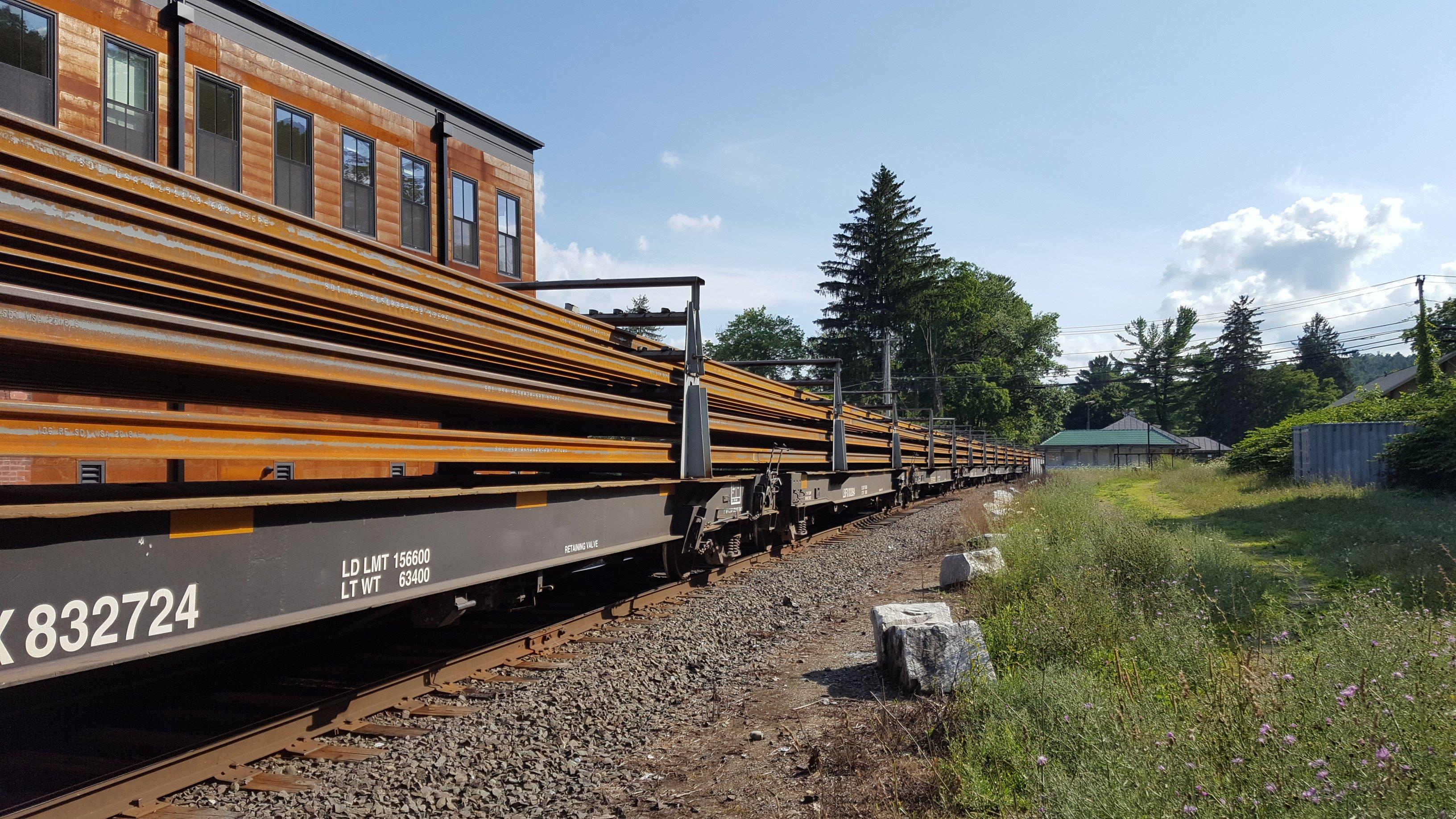 New Housatonic Rail