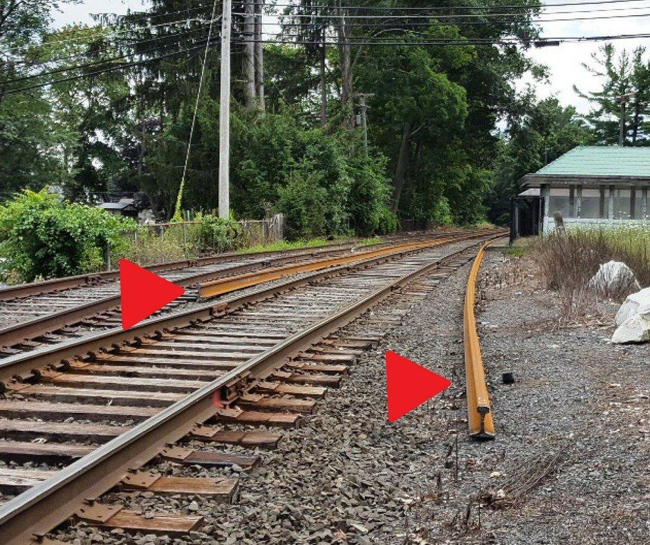Housatonic Line's new welded rail